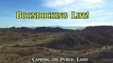 Boondocking life