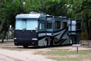 Motor home boondocking