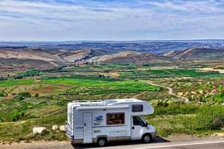 Boondocking on a Hill Side
