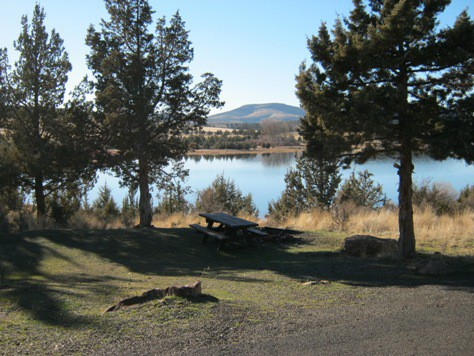 Boondocking Haystack Reservoir In Oregon